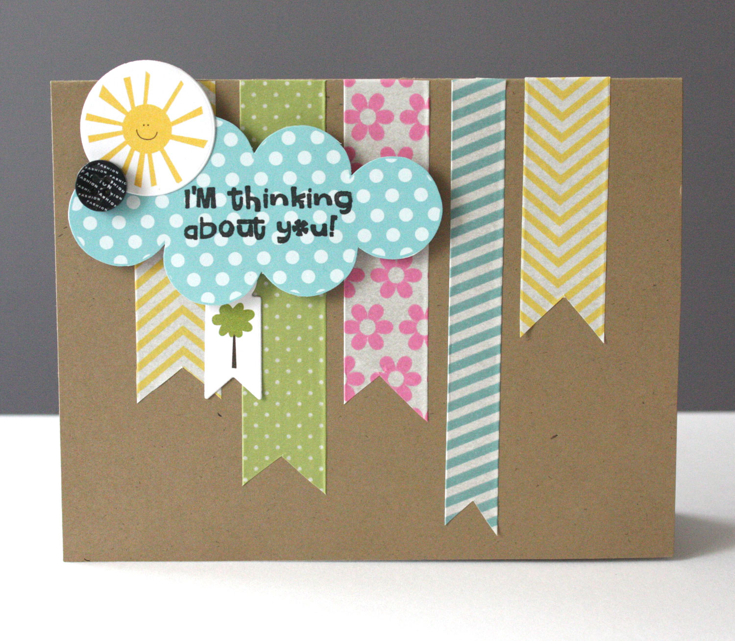 Ideas for washi tape cards by alice for How do you use washi tape