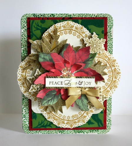 Alice Christmas Wreath Stamp 4