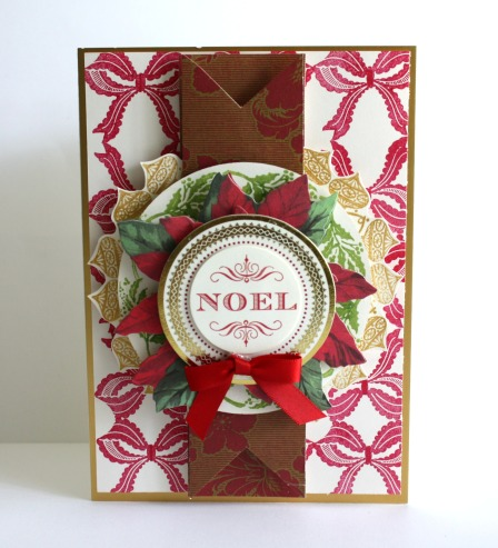 Alice Christmas Wreath Stamp 6